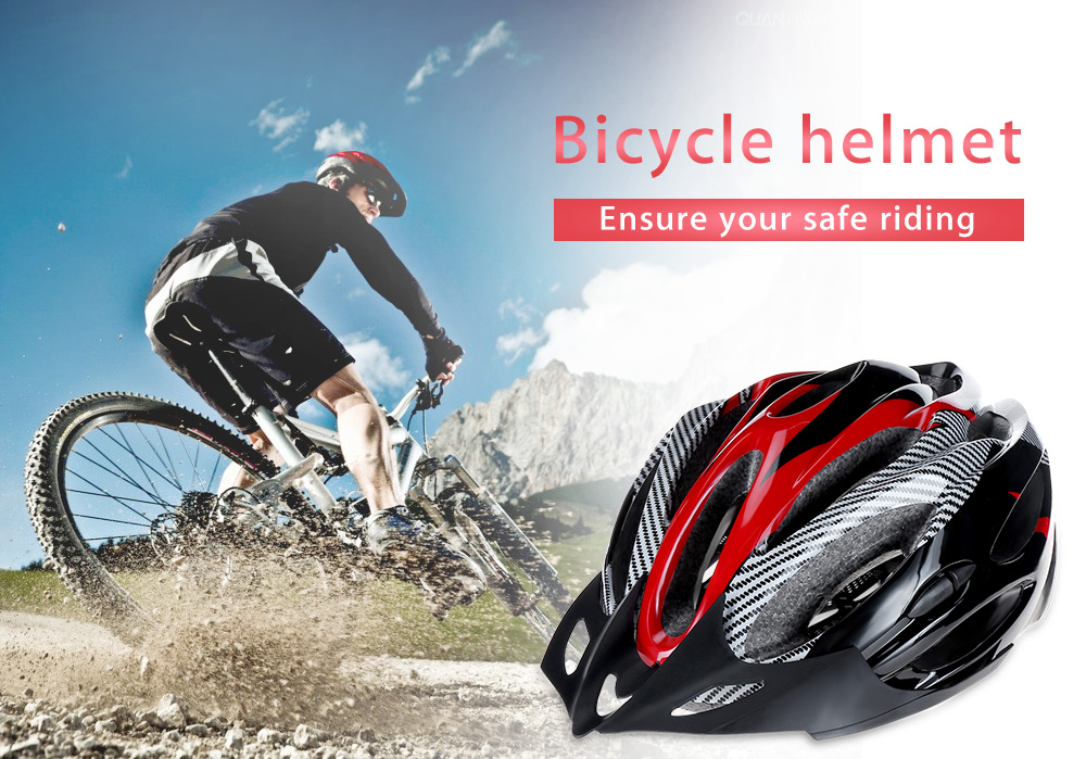 Integrally Molded Cycling Helmet Outdoor Sports Safe Riding Adjustable Skating Headpiece