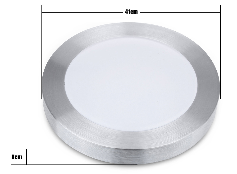 Round Single Side 18W LED Ceiling Light Bedroom Lamp