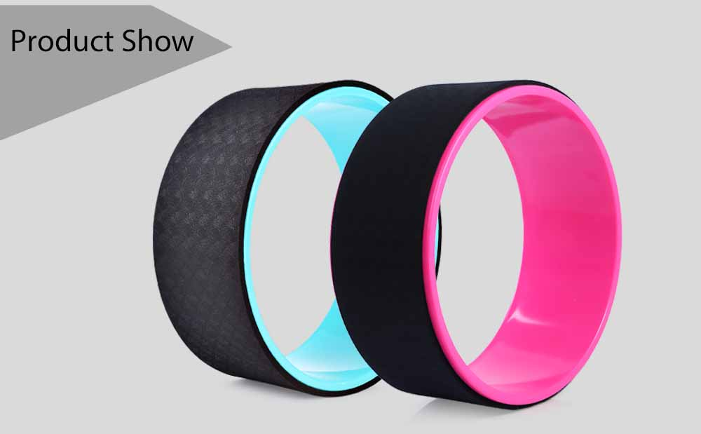 Gym Fitness Stretched Yoga Wheel for Waist Shape Bodybuilding Workout Equipment