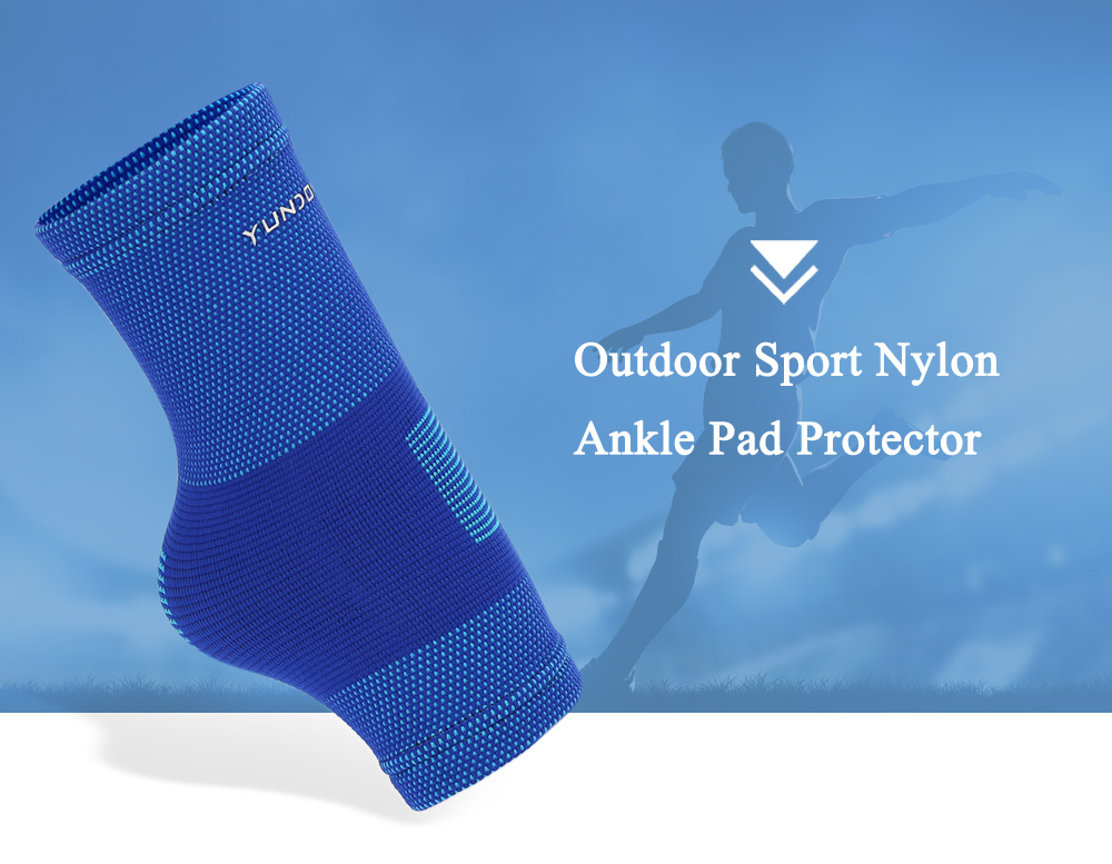 YUNDONGZHE Nylon Ankle Brace Support Outdoor Sports Protector Basketball Running Equipment