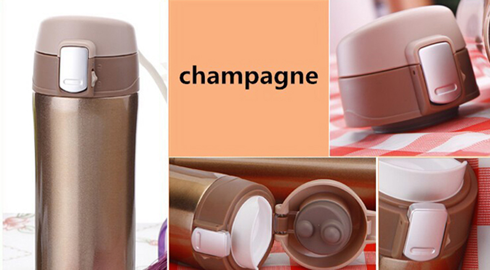 420 - 450ml 304 Stainless Steel Cup Office Tea Coffee Water Cup