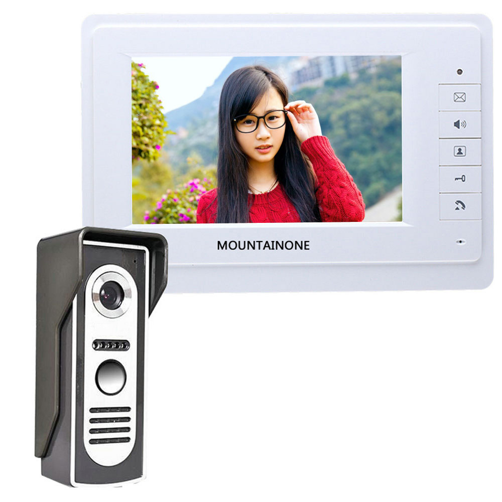 SY819M11 7 Inch HD Doorbell Camera Video Intercom Door Phone System with Monitor