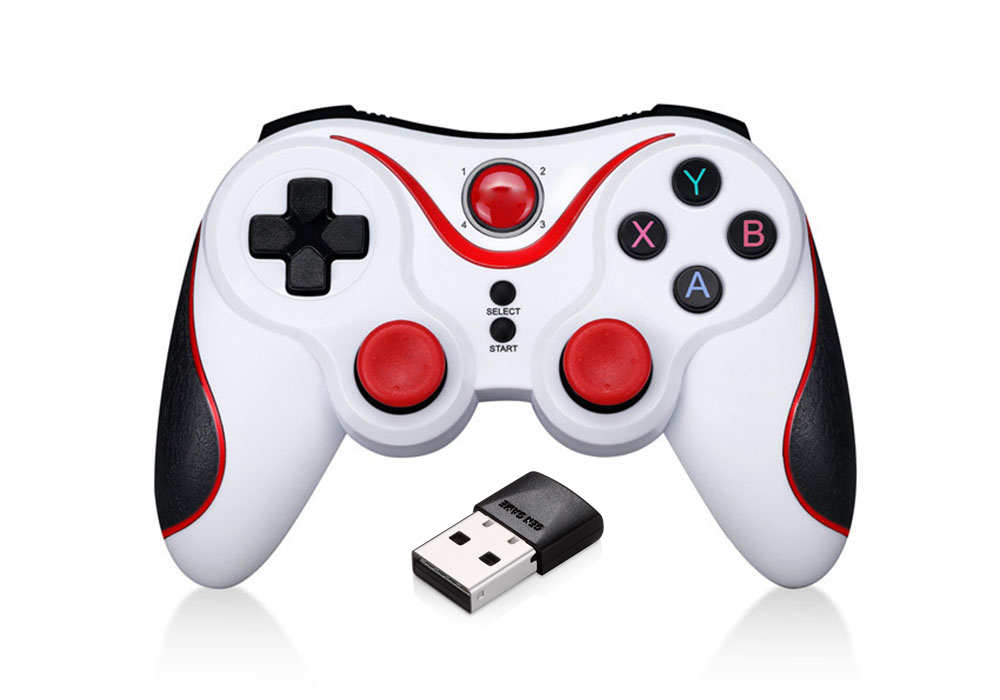 GEN_GAME Gamepad Game Bluetooth Controller Support Wireless Receiver for S3 / S5 / T3