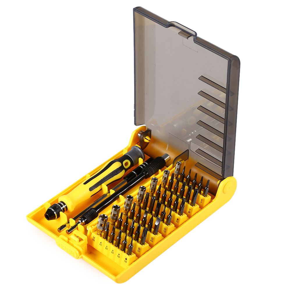 6089B 45 in 1 Multifunctional Tool Screwdriver Kit with Soft Hard Extension Bar