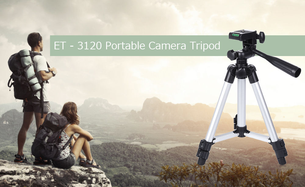 ET - 3120 Universal Portable Digital Camera Tripod Stand Lightweight for Canon Nikon Sony