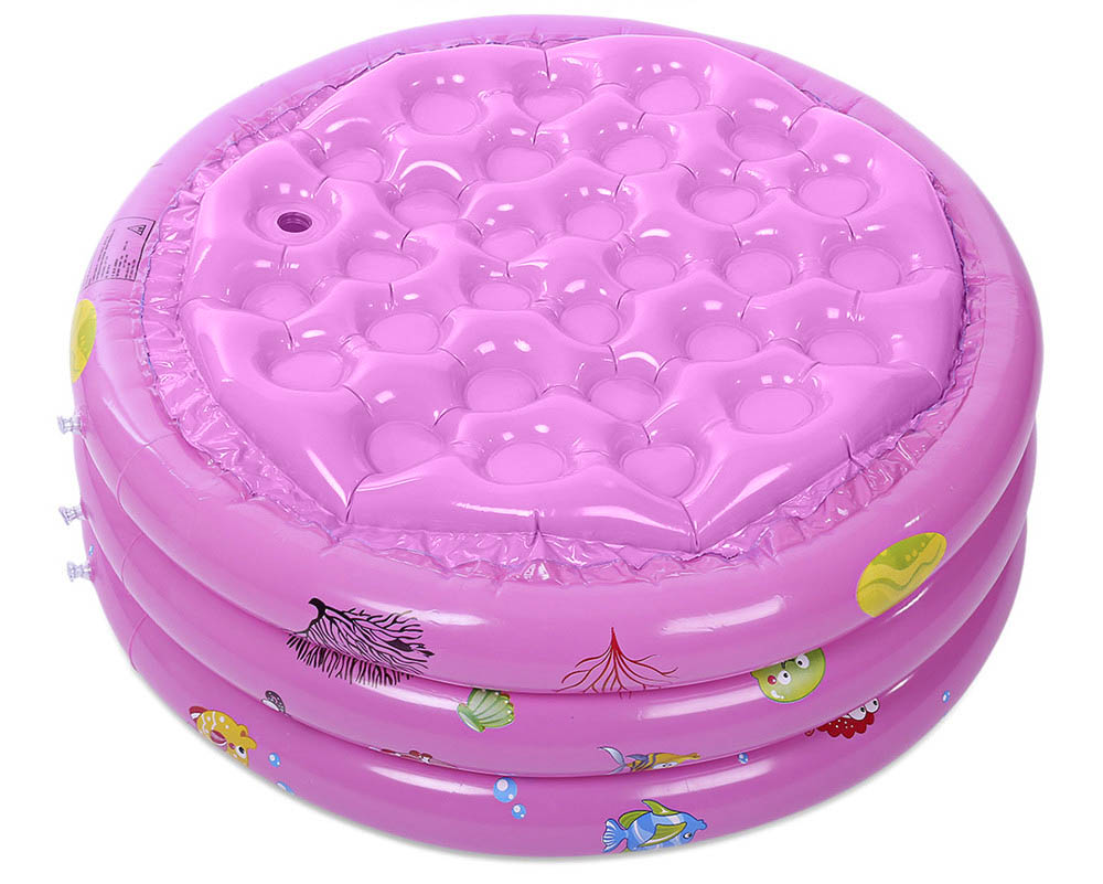 Children Swimming Inflatable Paddling Pool Baby Bathtub with Pump
