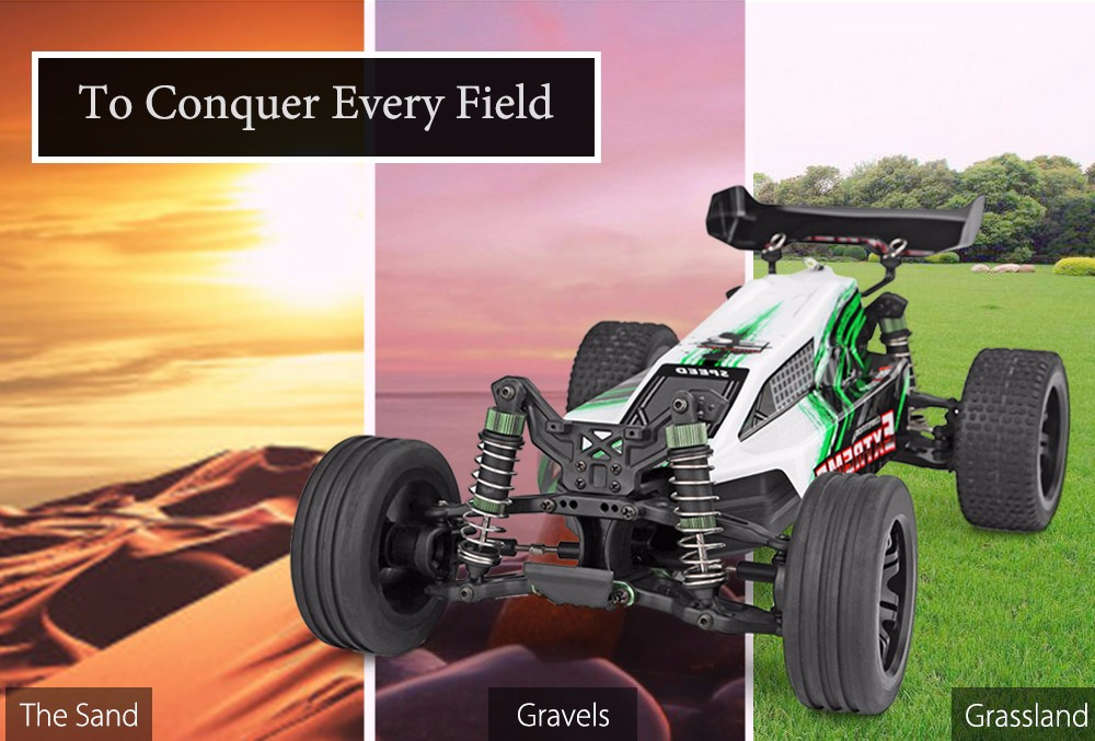 WLTOYS A303 1:12 Scale 2.4G 2WD 35km/h Remote Control Off-road Electric Car RTR