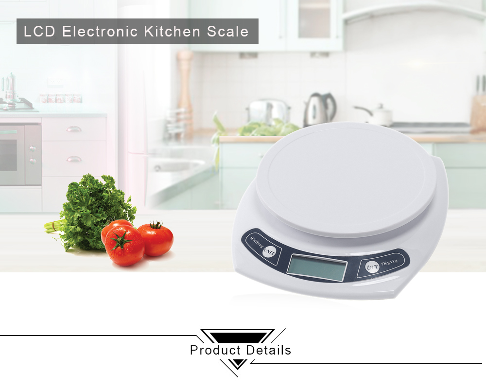 WeiHeng WH - B06 7kg / 1g Electronic Kitchen Scale-11.06 Online Shopping GearBest.com