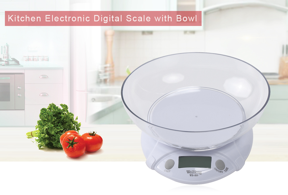 WeiHeng WH - B09L 7kg / 1g LCD Electronic Kitchen Scale интернет магазины