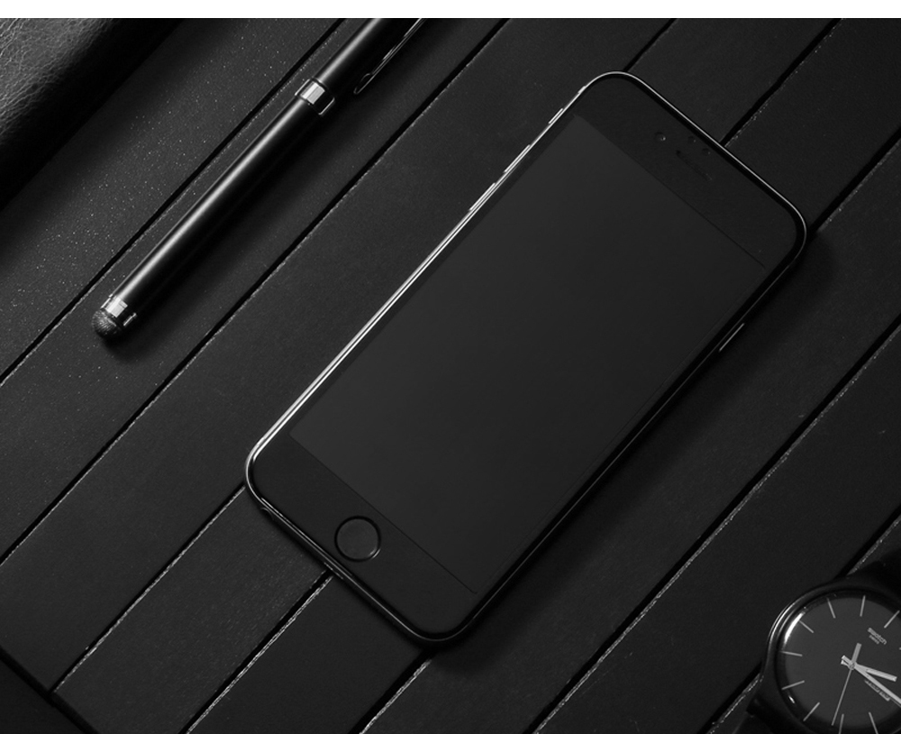 Baseus 3D Tempered Glass Soft Edge PET Full Screen Silk-screen Protective Film for iPhone 6 / 6S 0.23mm
