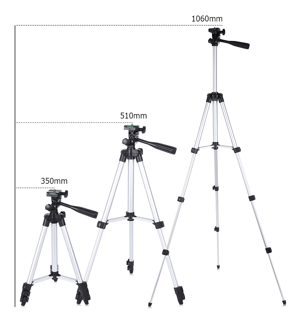 ET - 3110  Universal Portable Digital Camera Tripod Stand Lightweight for Canon Nikon Sony