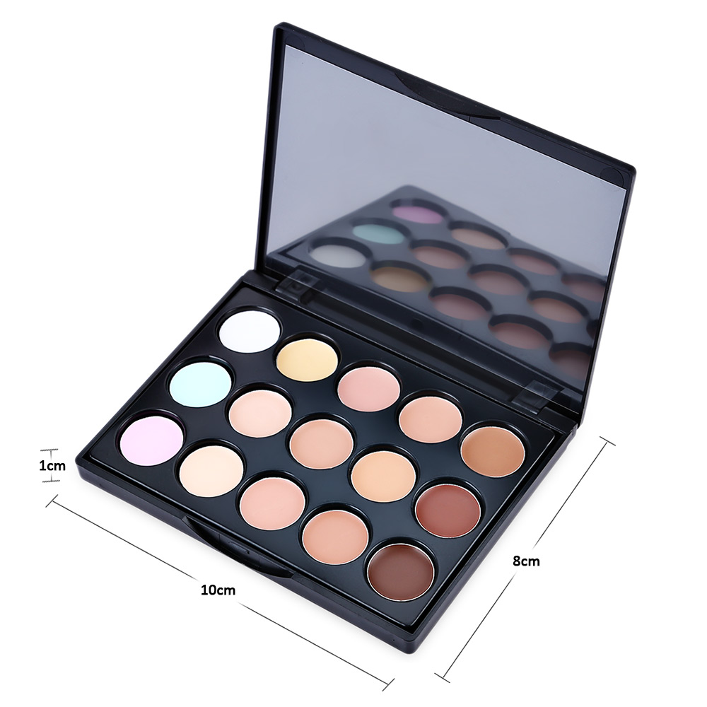 15 Colors Mini Contour Face Cream Makeup Concealer Palette
