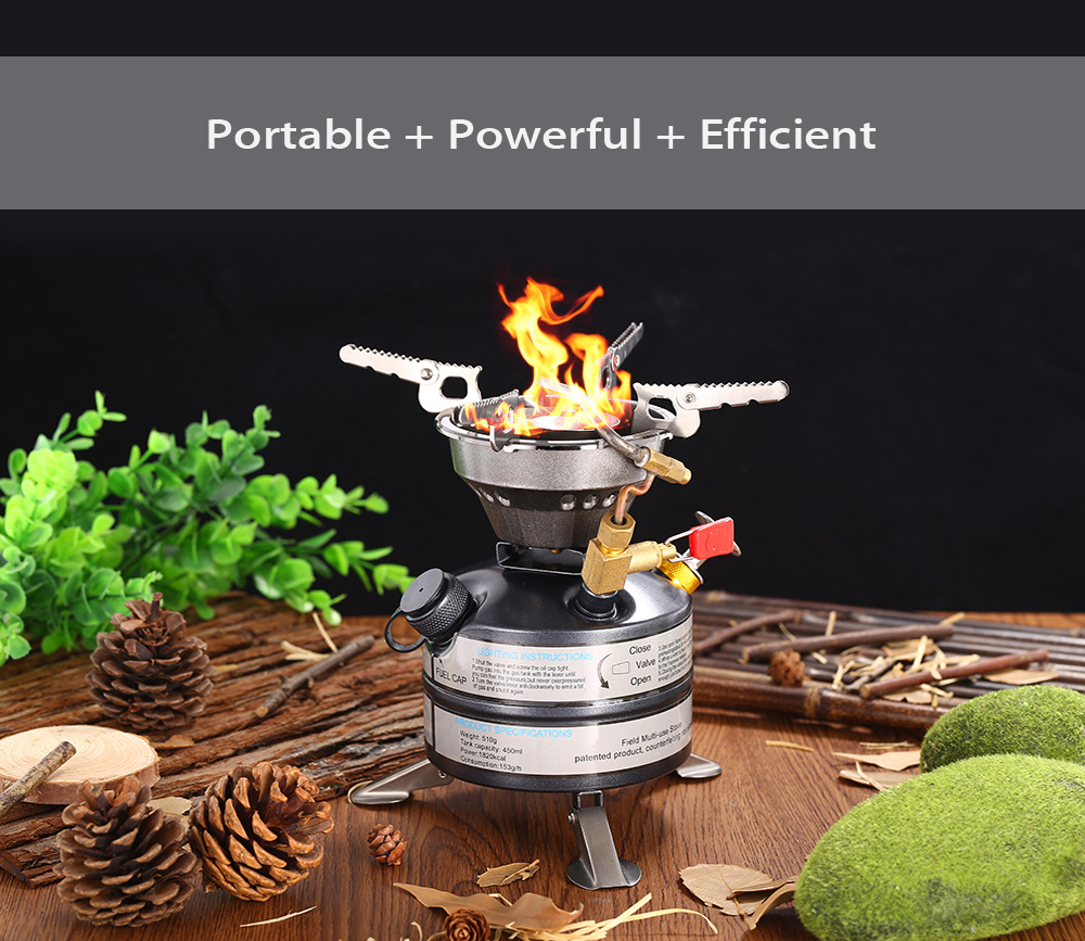 BRS - 12A Portable Gas Stove Burner Travel Outdoor Tool