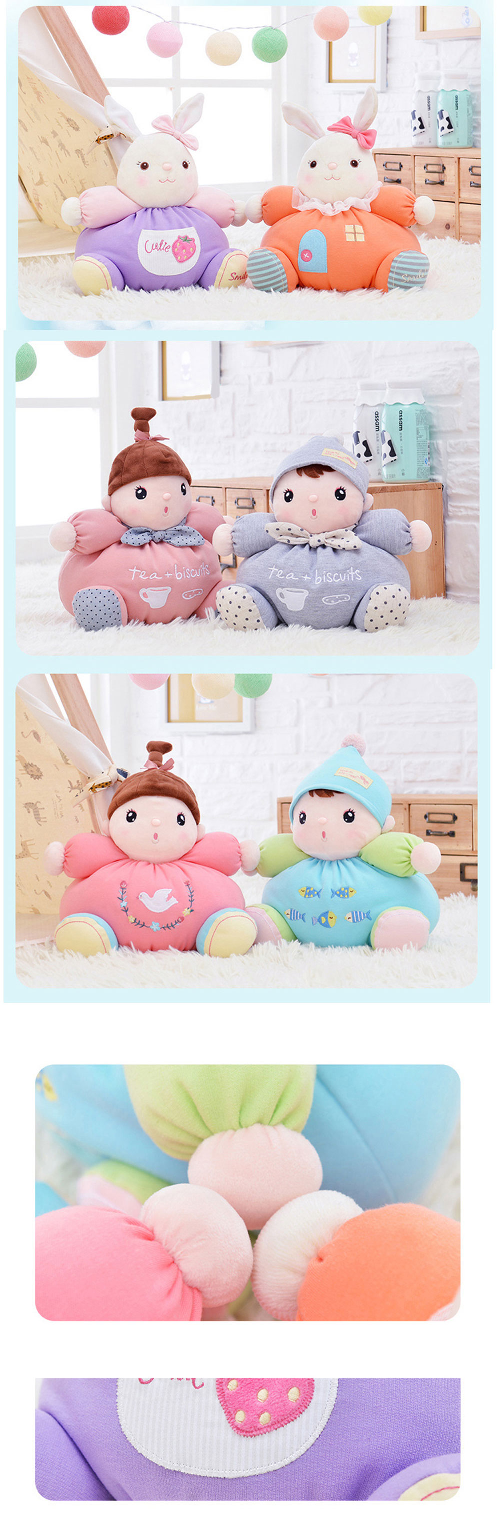 Metoo Plush Doll Toy Birthday Christmas Gift for Baby
