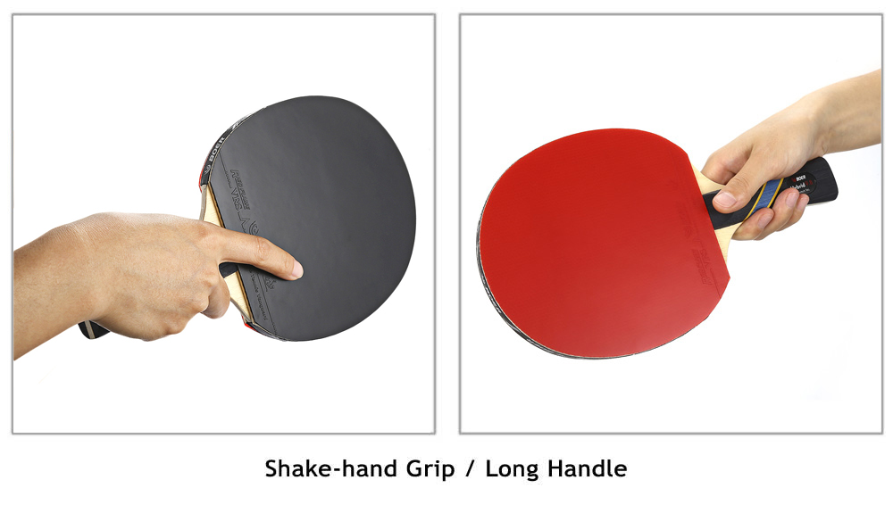 Boer S5 Table Tennis Racket Ping Pong Paddle Shake Hand