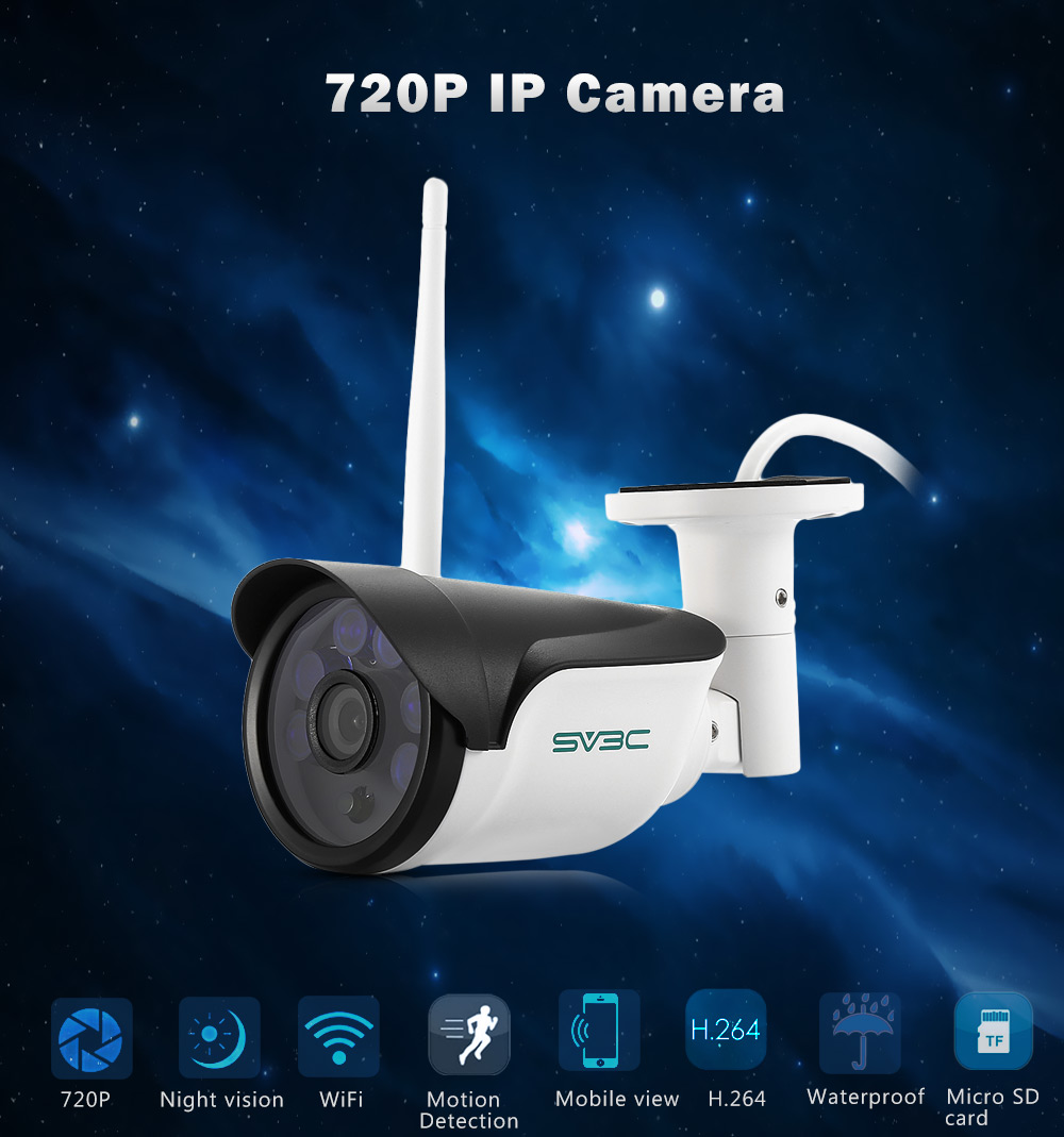 SV3C SV - B01W - 720P HD Support 32G TF Card IP Camera
