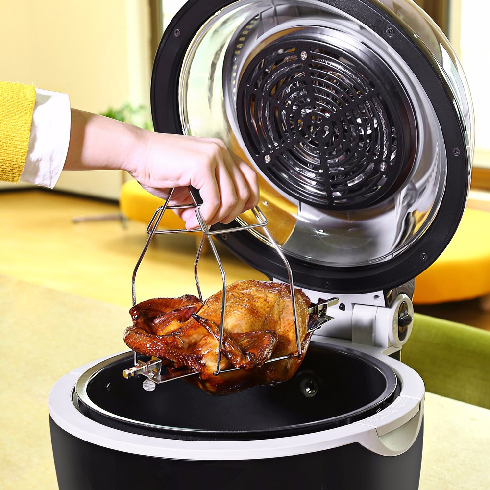 Tinychefs 10L Multifunctional Electronic Air Fryer Less-oil Less-fat Machine for Barbecue