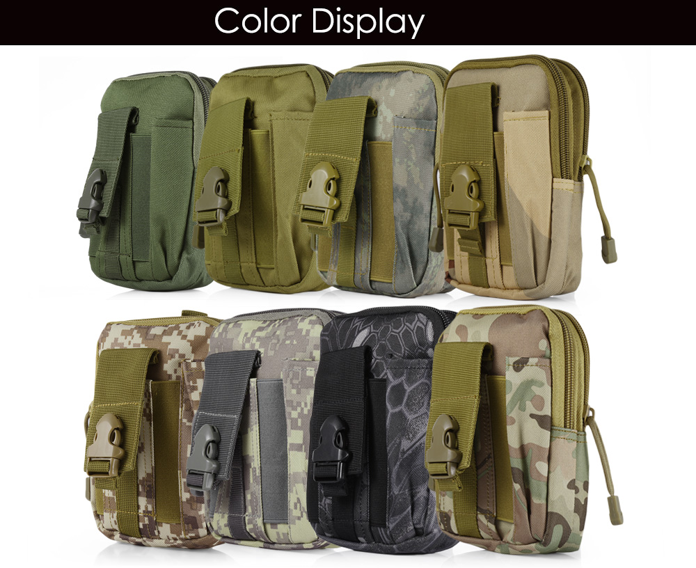 Waist Bag Compatible Molle EDC Outdoor Gear
