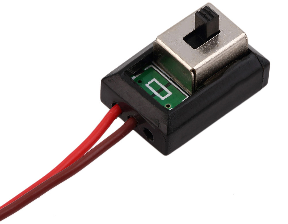 New Rain 160A 3S Water Resistance T Plug Brushed ESC Accessory for 1 / 12 1 / 14 Scale RC Car