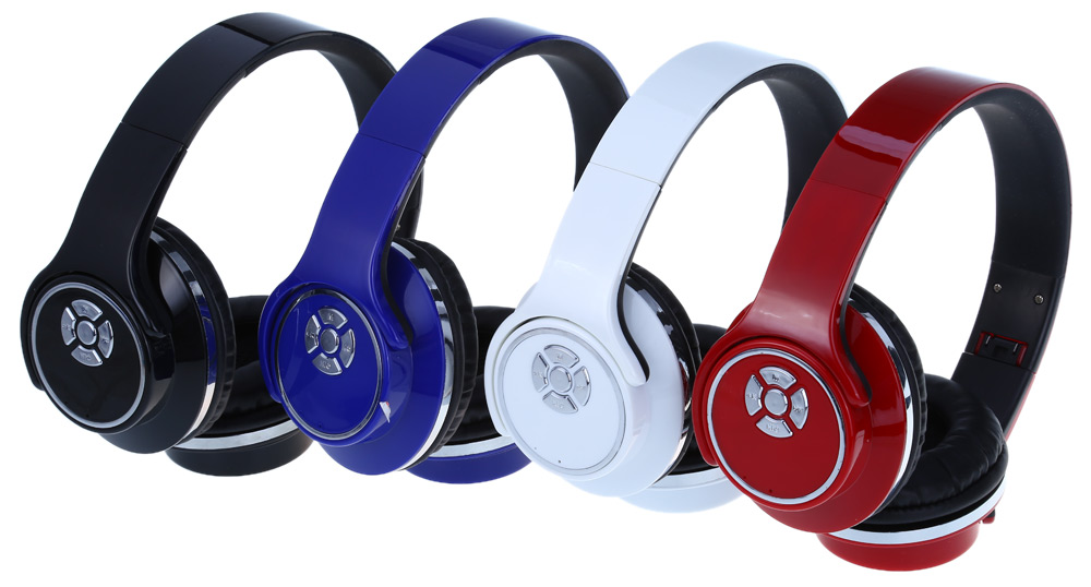 H-666 Wireless Bluetooth Headphones with Mic Volume Control Hands-free Calls