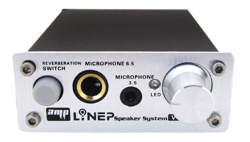 LINEP A907 Microphone Switcher Mic Reverberator