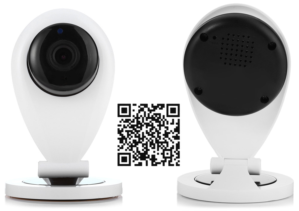 YTC 8410 2 HD Smart  IP Camera Support  WiFi Function Two-Way Voice Intercom Micro SD Card 64GB Night Vision