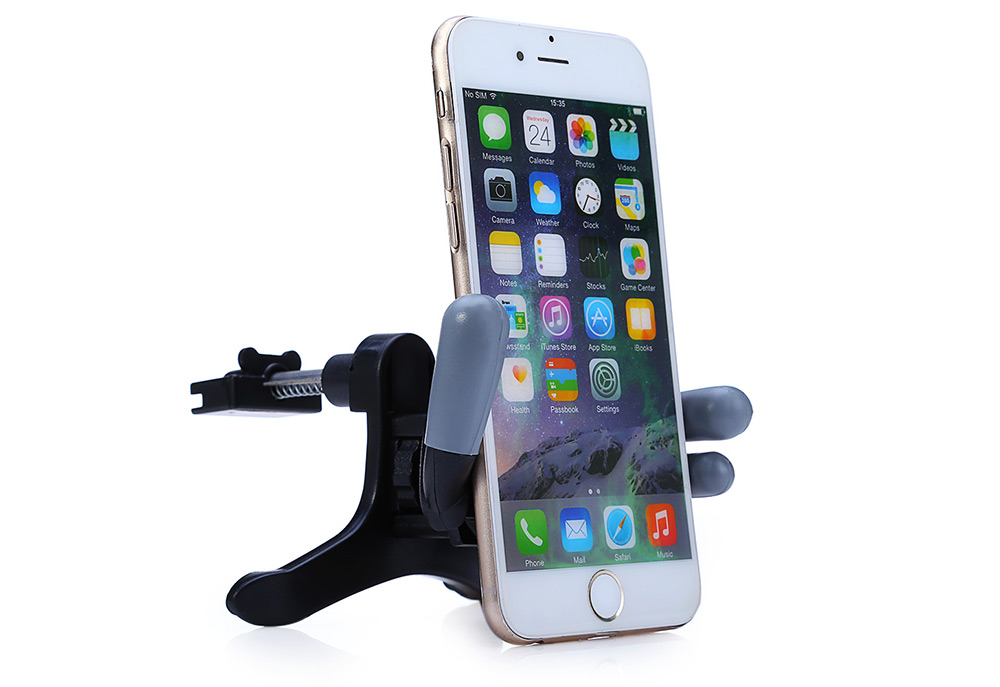 Adjustable Yes Car Air Vent Mobile Phone Holder Mount 360 Degree Rotatable