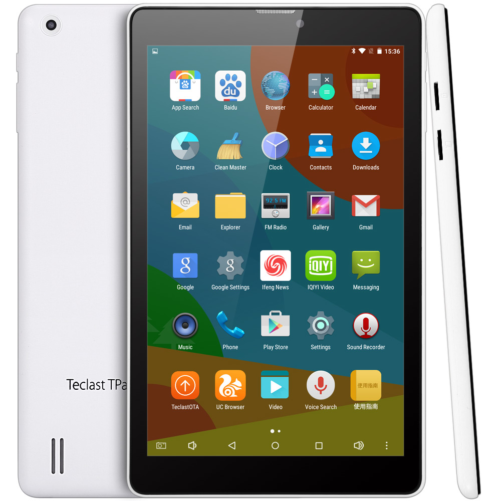 Teclast P80 3G 8 inch Android 5.1 Phablet with WXGA IPS Screen Intel X3-C3230 64bit Quad Core 1.2GHz 1GB RAM 8GB ROM WiFi GPS Bluetooth 4.0