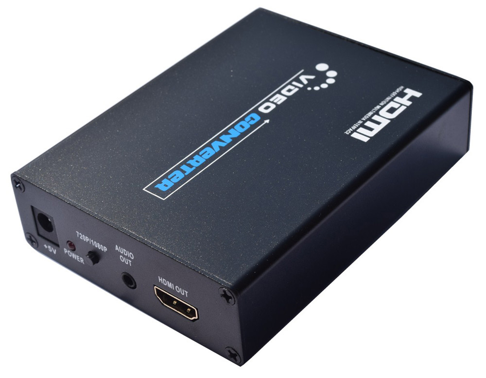 9S 3D SCART to HDMI Video Box Converter