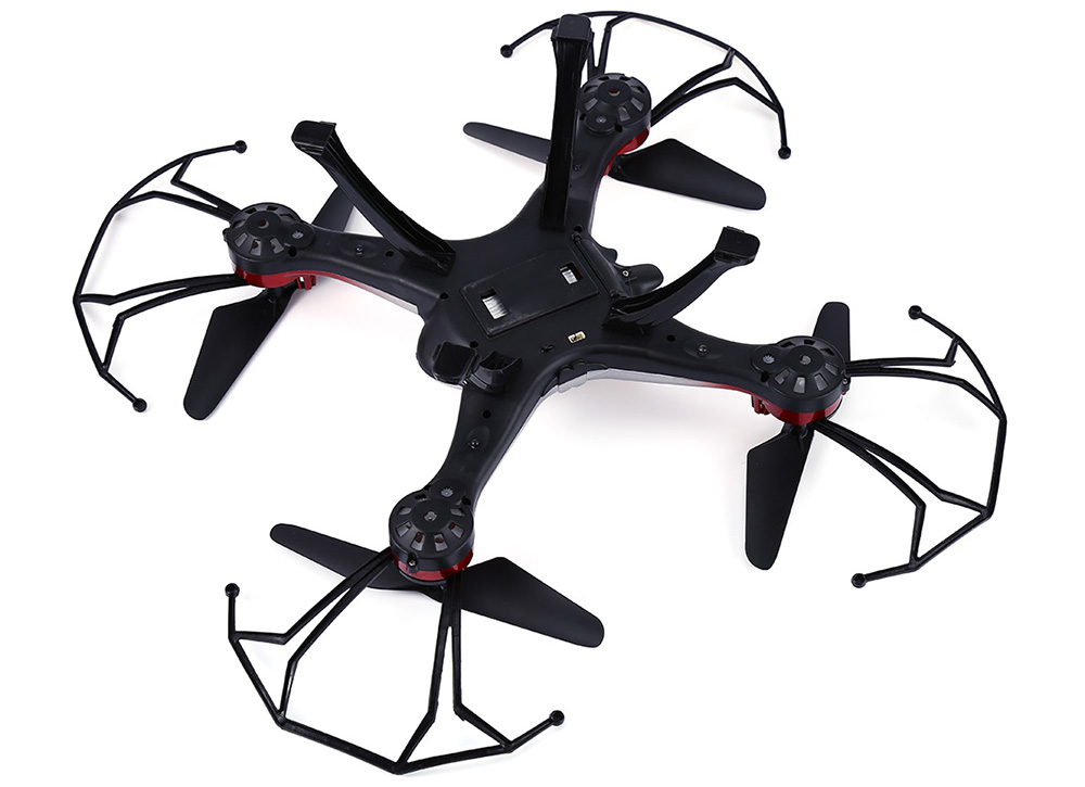 JJRC H29C 2.4G 4CH 6 Axis Gyro HD Camera Quadcopter with Light 360 Degree Flip
