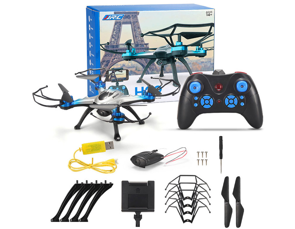 JJRC H29W 2.4G 4CH 6 Axis Gyro WIFI FPV 0.4MP Camera Quadcopter with Light 360 Degree Rollover