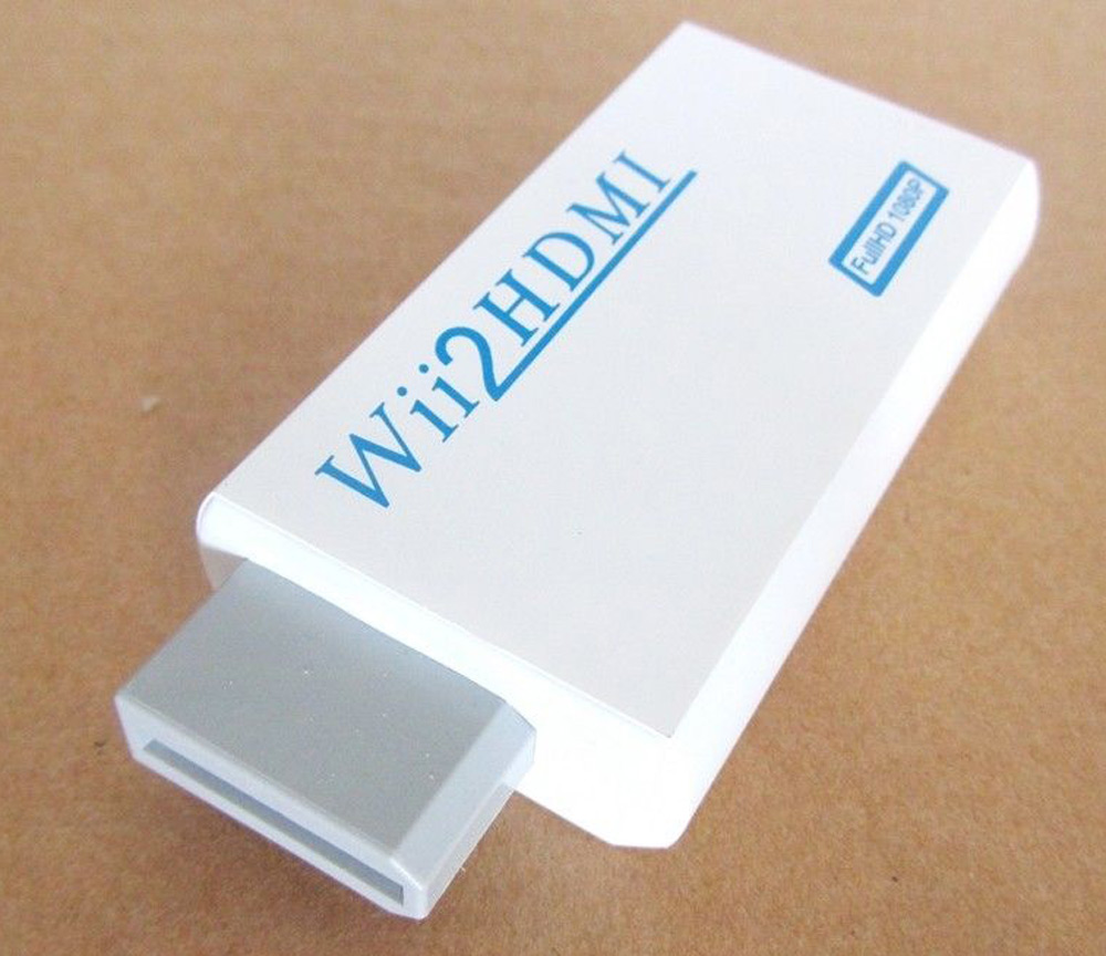 Wii Male to HDMI Female Converter Adapter
