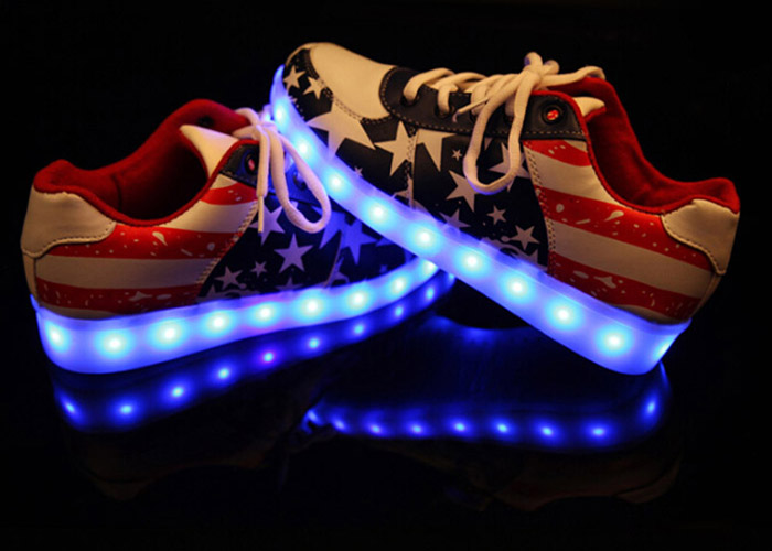 A89 USB Charge LED Shoes for Men / Women