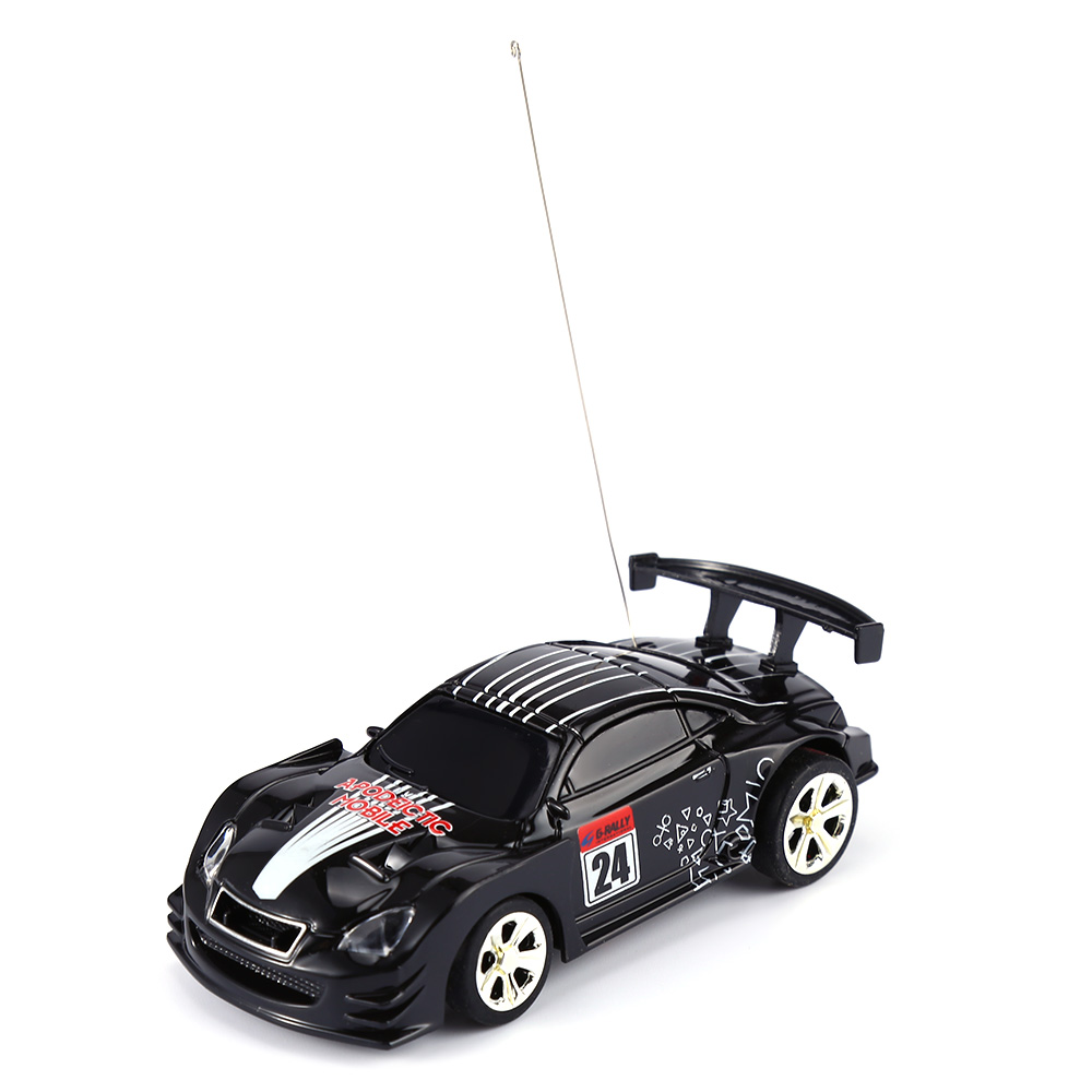 CREATE TOYS 2010B Coke Can Racing Car High Speed Remote Control Toy Gift for Kids