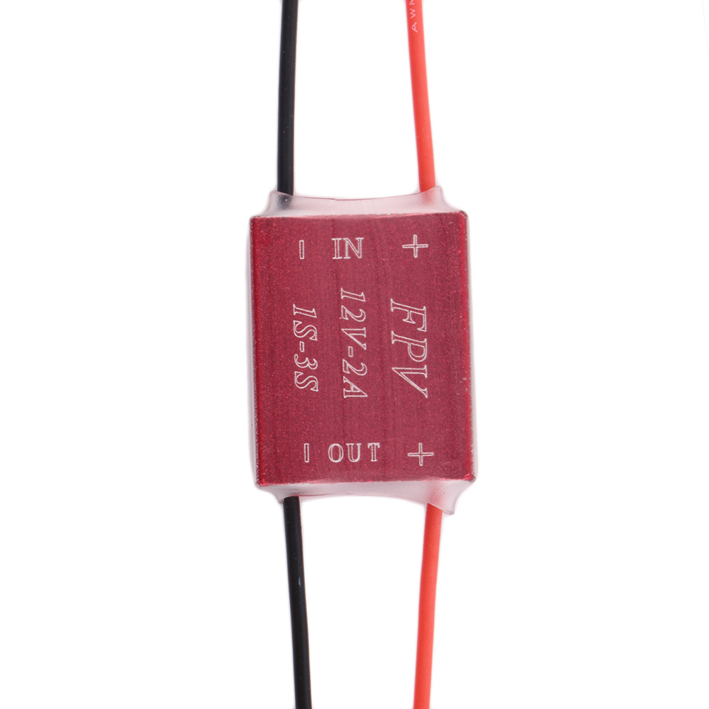 Aluminum Alloy Shell 12V 2A 1 - 3S Boost Module for Multicopter DIY Project