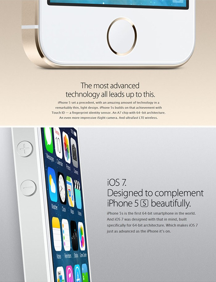 Refurbished 4.0 inch Apple iPhone 5s 4G Smartphone iOS 7.0 Apple A7 Dual Core 1.3GHz Retina Display Touch ID 1GB RAM 64GB ROM 8.0MP Rear Camera