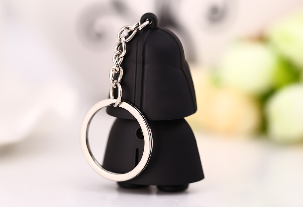 Stomtrooper Style Key Ring Voice Light Control Keychain
