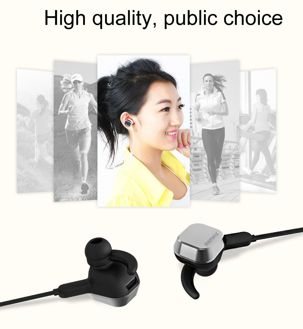 REMAX S2 Wireless Bluetooth 4.1 Magnet Sport Headsets
