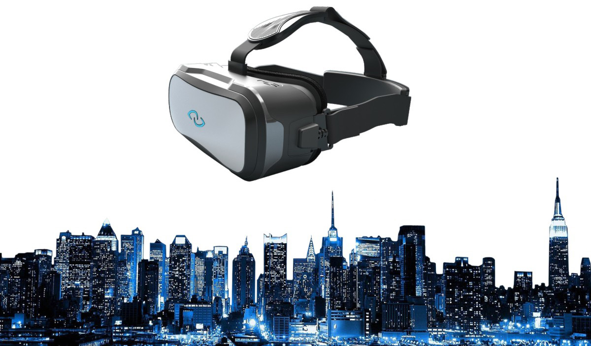 3Glasses D2 3D Virtual Reality Headset PC Version 2K Resolution with Touch Panel 110 Degree Wide View Angle
