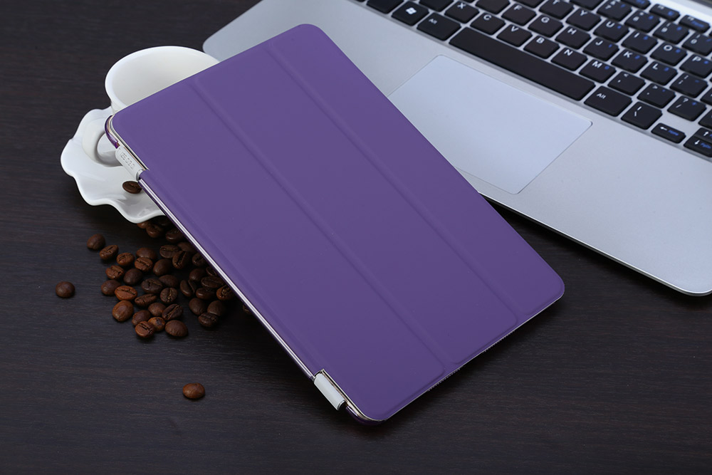 Slim Flip Magnetic Leather Smart Cover Hard Back Case for iPad Mini 1 2 3