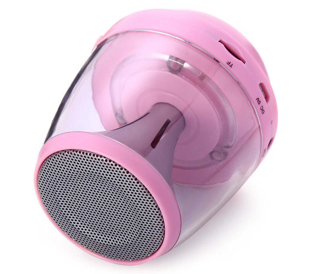 M-28 Wireless Bluetooth Speaker with LED Backlit