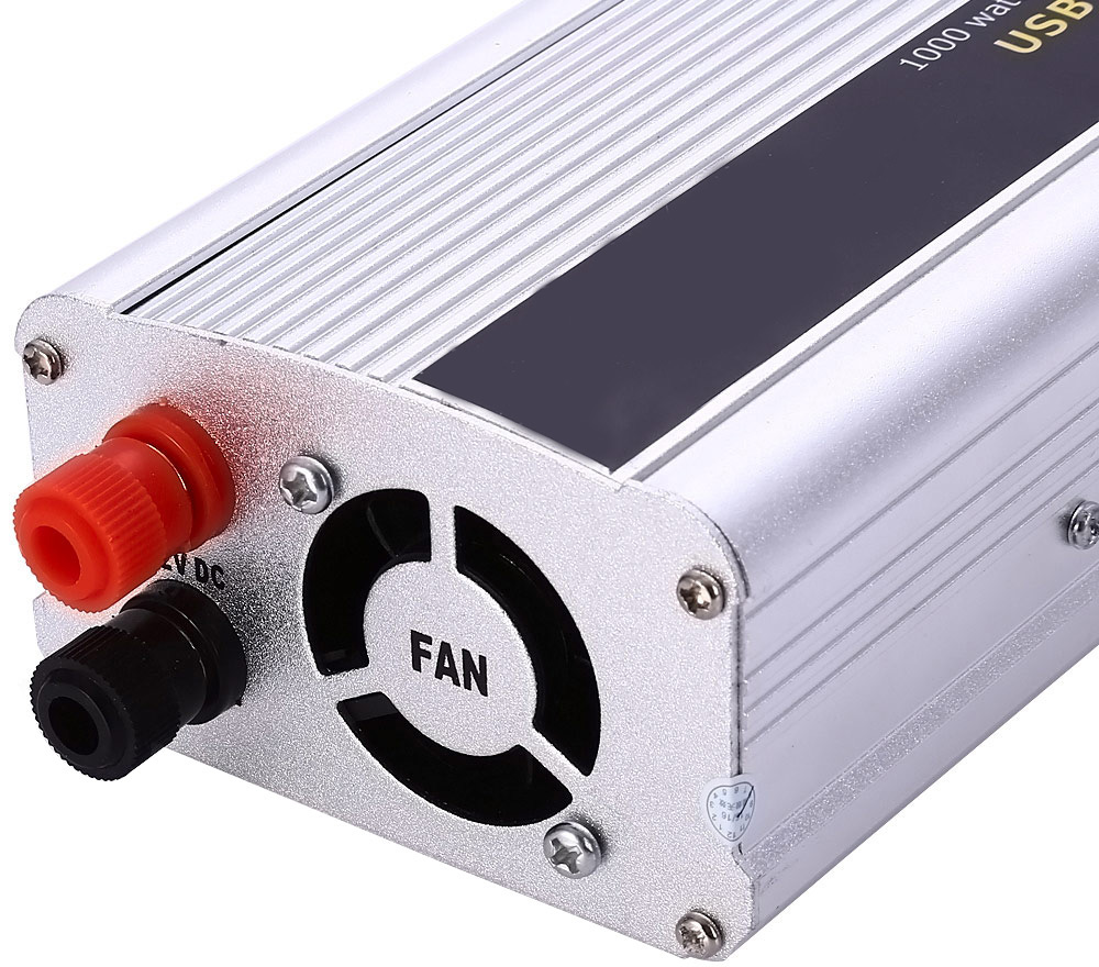 Car Inverter 1000W DC 12V AC 220V Vehicle Power Supply Switch On-board Charger