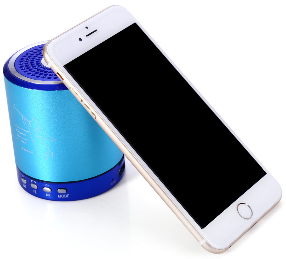 T-2020A Wireless Bluetooth Speaker MP3 Player Computer Phone Subwoofer
