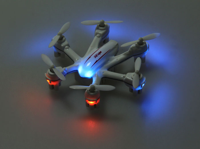 MJX X901 Mini 2.4GHz 6 Axis Gyro RC Hexacopter with 3D Roll Stumbling Function