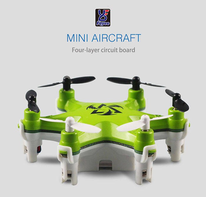 Fayee FY805 Super Mini Hexacopter 2.4GHz 4 Channel 6 Axis Gyro Headless Mode LED Light