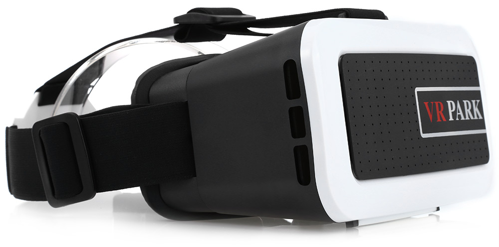 VR PARK 3D Virtual Reality Headset Video Glasses with Pupil Distance Adjustment for 4.7 - 5.0 inch Smartphones