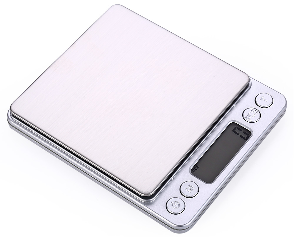I-2000 0.1g Accuracy Small Jewelry Electronic Kitchen Scale