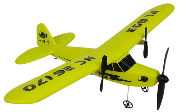 Flybear FX - 803 2.4G 2CH EPP Professional Glider Front-pull Double Propeller Ready-to-fly