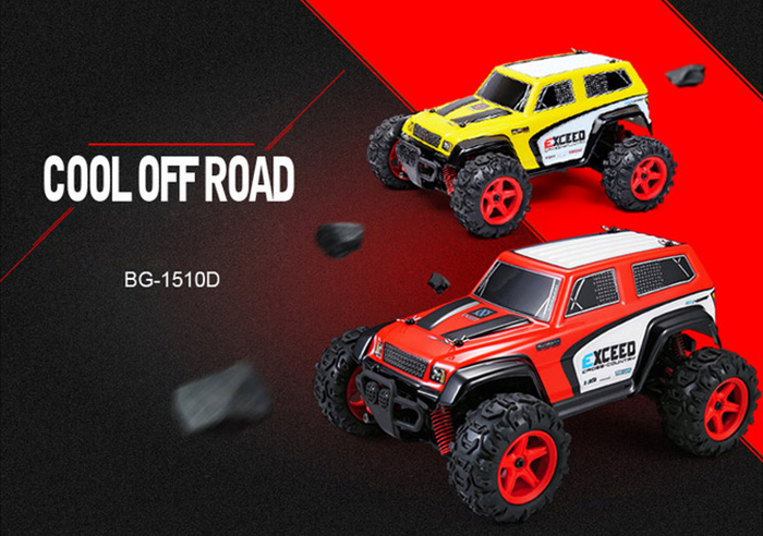 SUBOTECH BG1510B 1 : 24 2.4GHz Full Scale High Speed 4WD Off Road Racer