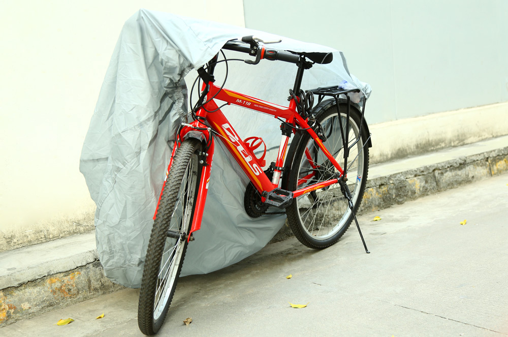 Nylon Bike Bicycle Waterproof UV Protective Cover with Storage Bag